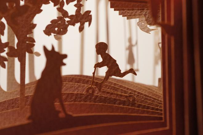 Юсуке Оооно. Истории на раскрытых на 360 градусах книгах