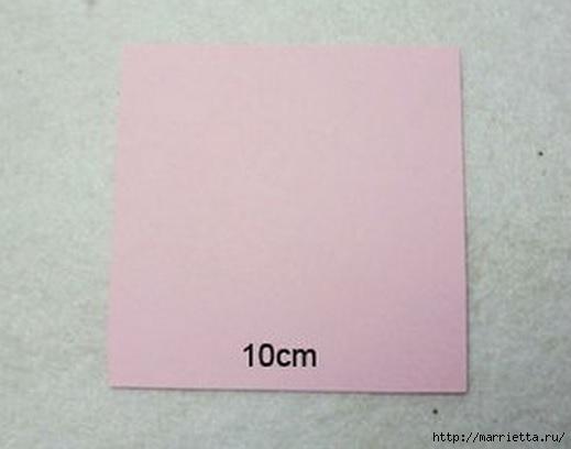Панно с сердцем из бумажных розочек (3) (519x408, 65Kb)