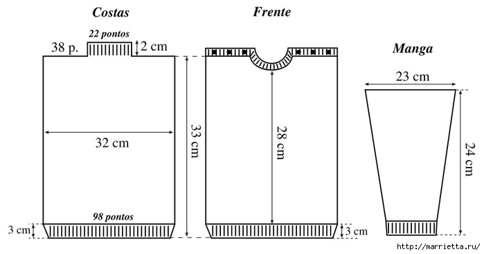 Свитерок спицами для малыша до 6 лет (5) (700x367, 63Kb)