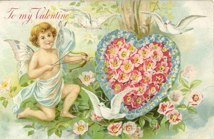 70260865_victorianvalentinescardcerubarrowdovesheartflowers (700x454, 375Kb)