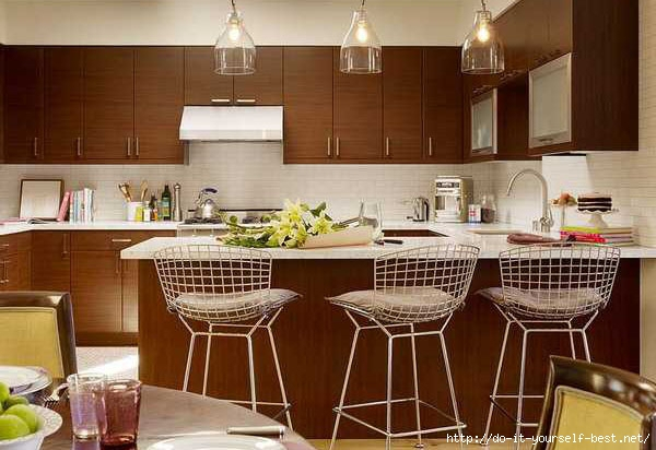 Wicker counter stools
