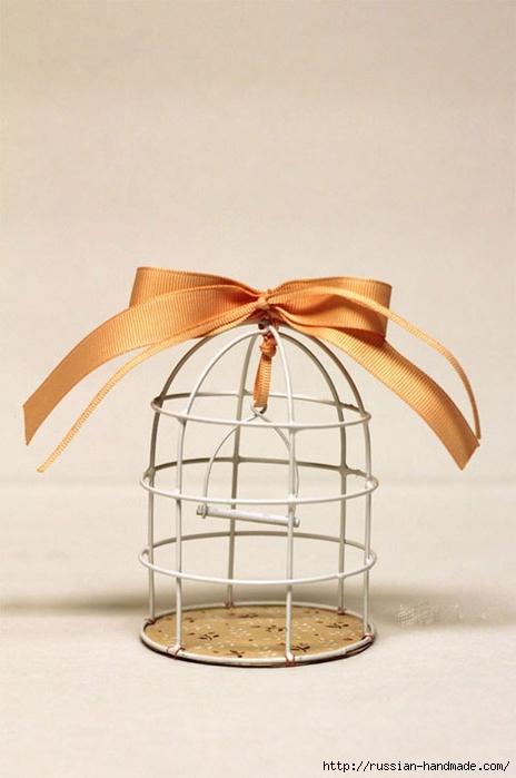 Из проволоки. Декоративная клетка для птички. Мастер-класс (8) (464x700, 177Kb)