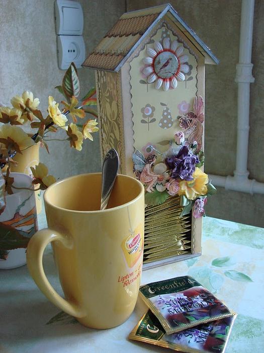 чайный домик из картона (13) (525x700, 306Kb)