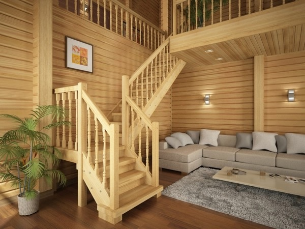 Дома из дерева видео