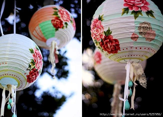 Сделать китайский небесный фонарик своими руками