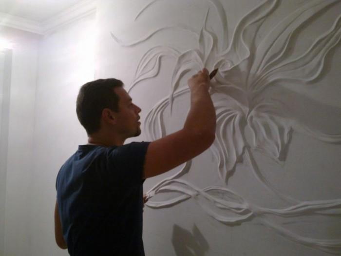 Художественные идеи в отделке стен. Обсуждение на LiveInternet - Российский Сервис Онлайн-Дневников