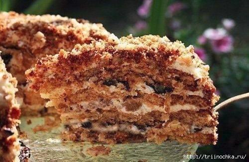 Торт Белочка - самый простой рецепт!