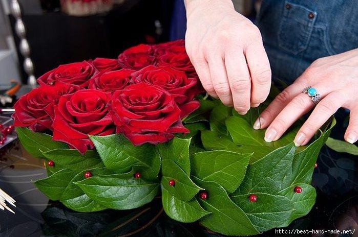 Сердечное рукоделие с розами и из роз. Идеи, мастер-классы. Обсуждение на LiveInternet - Российский Сервис Онлайн-Дневников