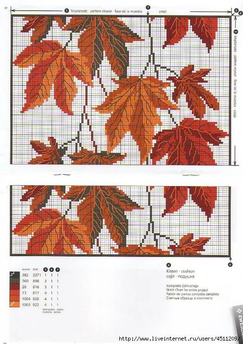 Кленовые листья.
