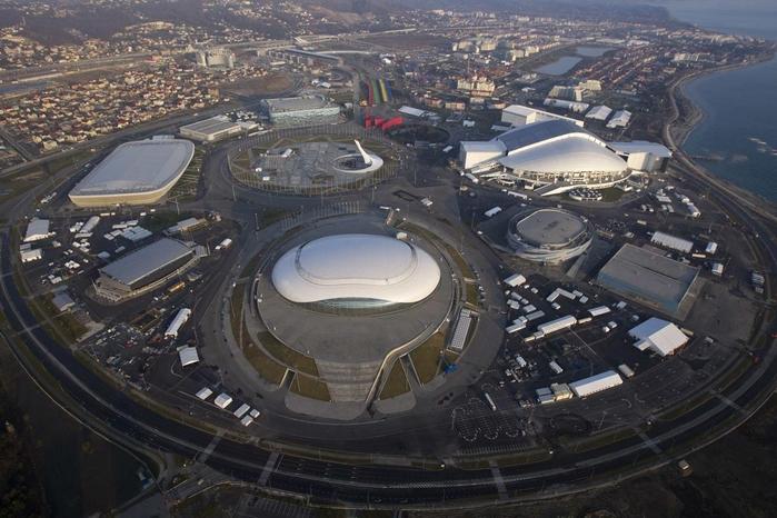 Объекты олимпиады в Сочи