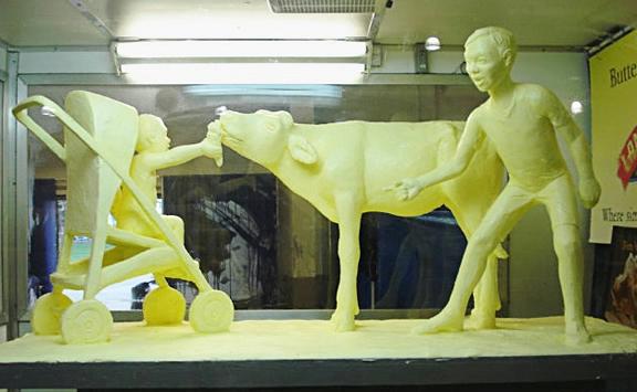 скульптуры из масла Джими Виктор 7 (576x355, 126Kb)