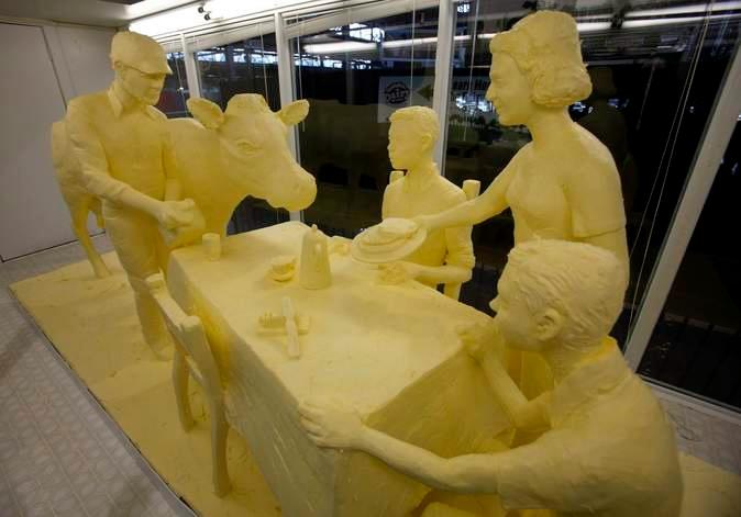 скульптуры из масла Джими Виктор 10 (674x471, 102Kb)