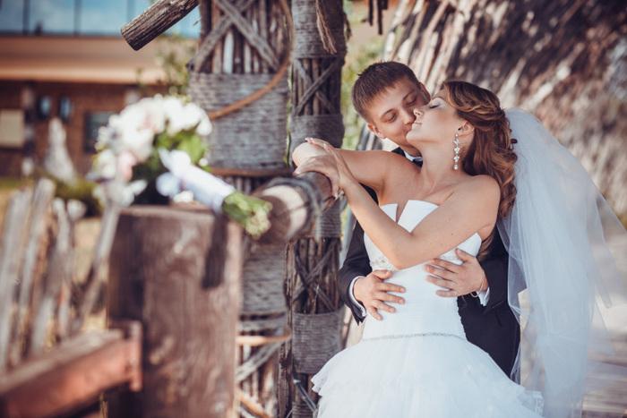 Красивая обработка свадебных фото фотошоп