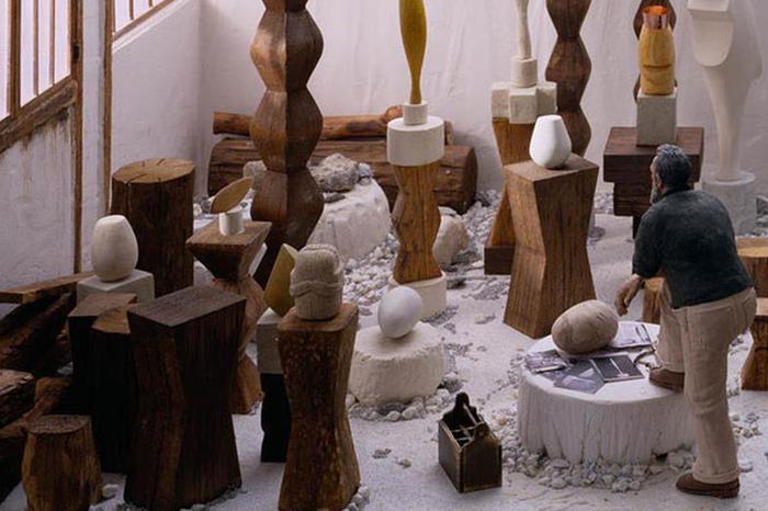 Джо Фиг, миниатюры: художники внутри своих студий