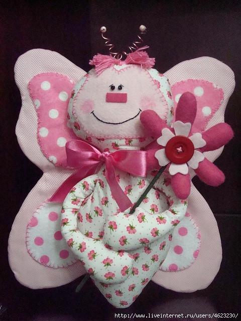 Кукла бабочка своими руками