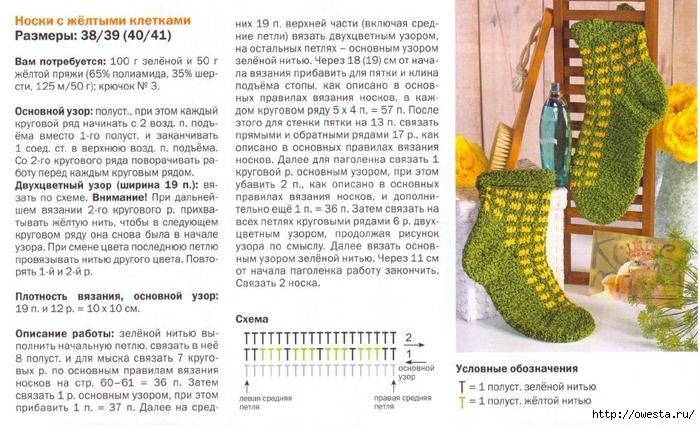 Схема вязания крючком детских носочков для начинающих 38