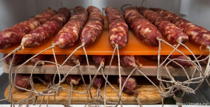 Сырокопченая колбаса в домашних условиях