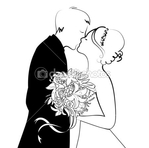 Превью depositphotos_7401564-Black-and-White-Wedding-Background (450x446, 62Kb)