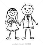 Превью stock-vector-wedding-couple-lovely-bride-and-groom-together-hand-drawing-vector-illustration-81955228 (450x470, 69Kb)