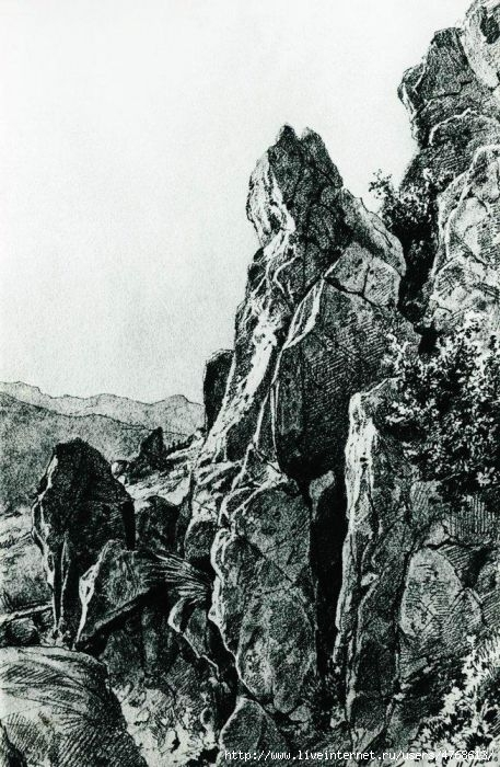 В крыму крымские пейзажи и и шишкина