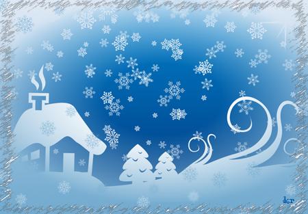 В-снегу (450x313, 207Kb)