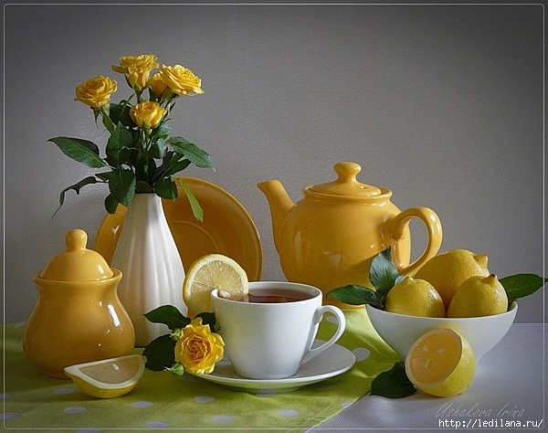 чай завтрак (600x474, 183Kb)