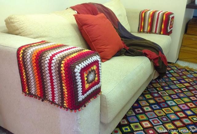 Вяжем крючком. Подлокотники для дивана и кресел (1) (640x434, 227Kb)