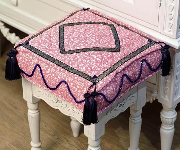 Подушки для стула своими руками выкройки фото схемы
