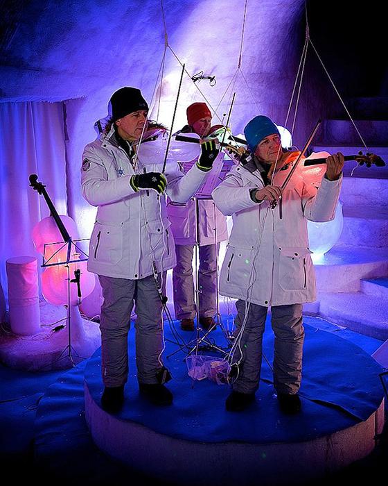 ледяной концертный зал швеция (560x700, 501Kb)