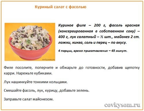 Салаты рецепты с картинками
