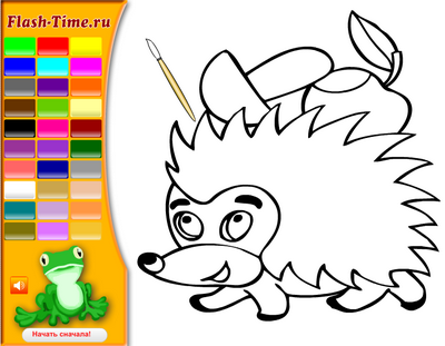 Раскраски онлайн для детей 3