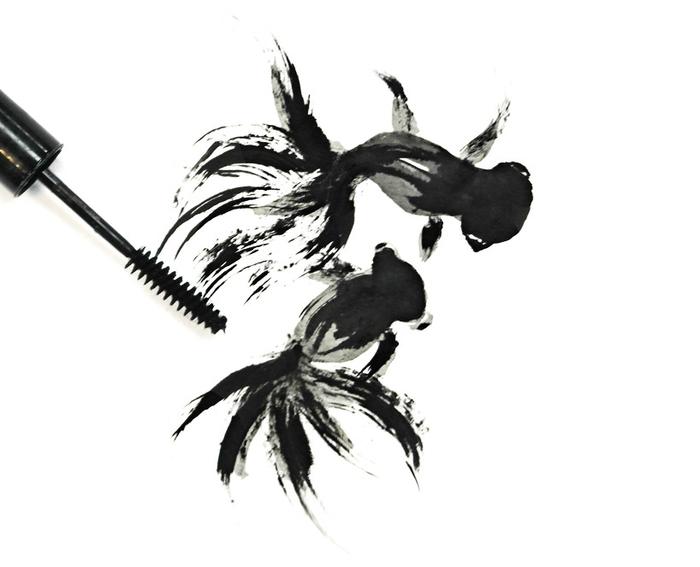 искусство визажа Художница Хонг Йи (700x567, 101Kb)