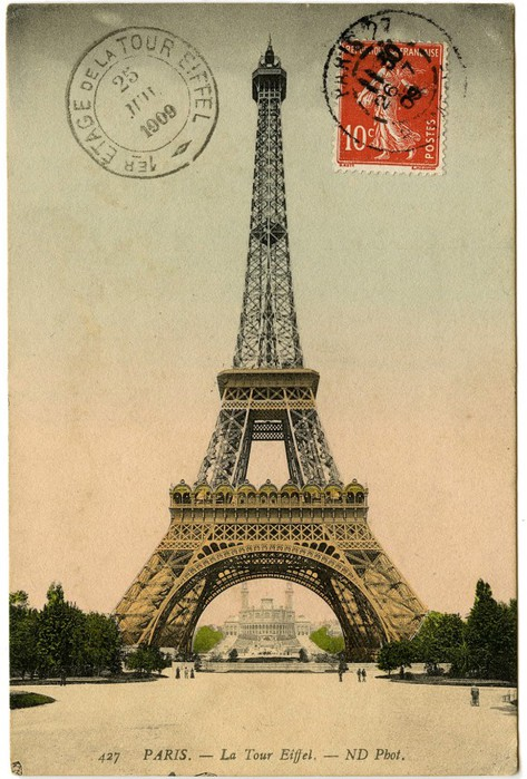 Эйфелева башня 1Eiffel_Tower_Vintage_Paris-600x887 (473x700, 110Kb)
