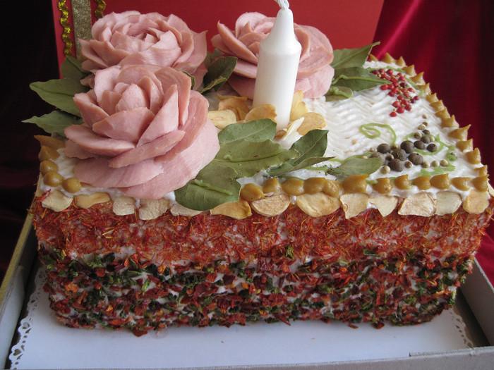 Торт из сала фото