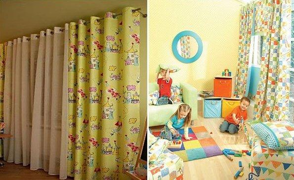 Дизайн штор в детскую комнату. На что обратить внимание.