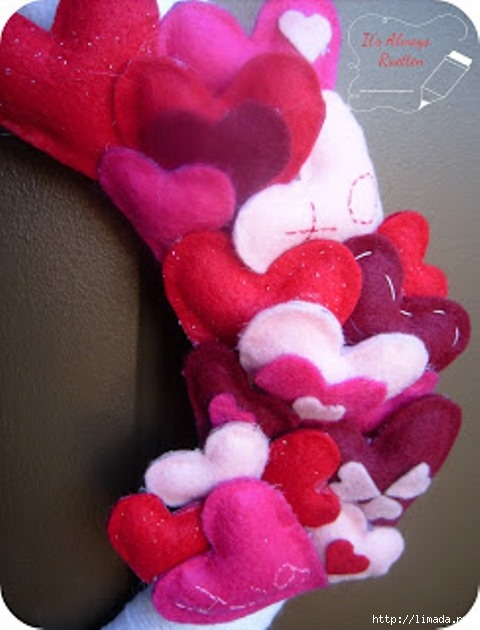 Felt Heart CloseUp (480x630, 145Kb)