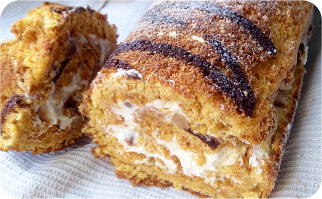 Пряный бисквит фото