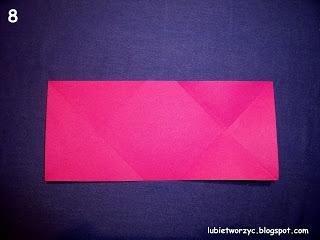 Сердечки-валентинки оригами из бумаги для украшения подарка (8) (320x240, 48Kb)