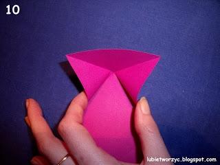 Сердечки-валентинки оригами из бумаги для украшения подарка (10) (320x240, 48Kb)