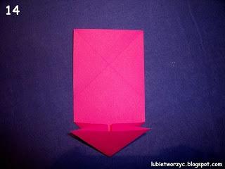 Сердечки-валентинки оригами из бумаги для украшения подарка (14) (320x240, 45Kb)