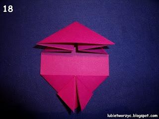 Сердечки-валентинки оригами из бумаги для украшения подарка (18) (320x240, 46Kb)