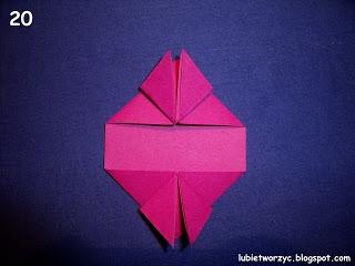 Сердечки-валентинки оригами из бумаги для украшения подарка (20) (320x240, 49Kb)