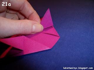 Сердечки-валентинки оригами из бумаги для украшения подарка (22) (320x240, 47Kb)