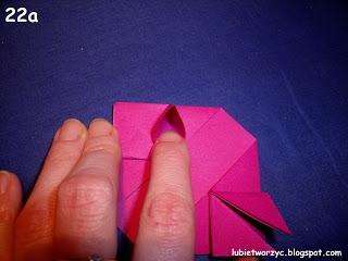 Сердечки-валентинки оригами из бумаги для украшения подарка (24) (320x240, 50Kb)