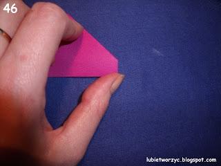 Сердечки-валентинки оригами из бумаги для украшения подарка (52) (320x240, 46Kb)