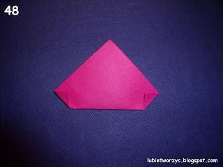 Сердечки-валентинки оригами из бумаги для украшения подарка (54) (320x240, 48Kb)