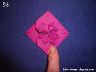 Сердечки-валентинки оригами из бумаги для украшения подарка (60) (320x240, 50Kb)