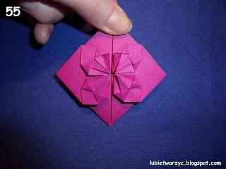 Сердечки-валентинки оригами из бумаги для украшения подарка (62) (320x240, 52Kb)