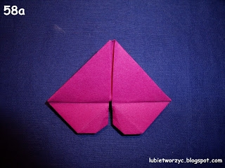 Сердечки-валентинки оригами из бумаги для украшения подарка (66) (320x240, 56Kb)