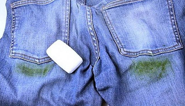 Чем можно вывести пятна травы с одежды